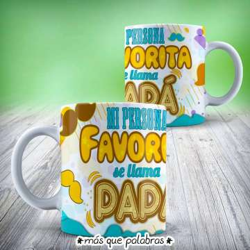 Tazón Papá Persona Favorita