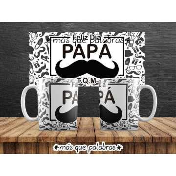 Tazón Papá Feliz Día 5