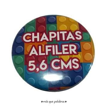 Chapitas Alfiler 56mm