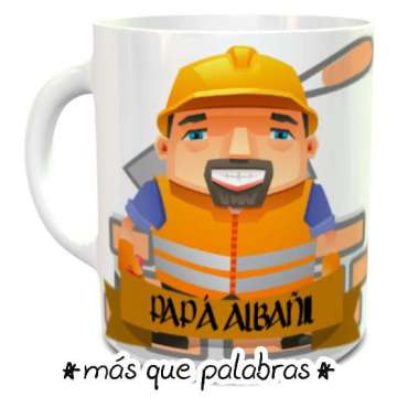 Tazón Papá Albañil