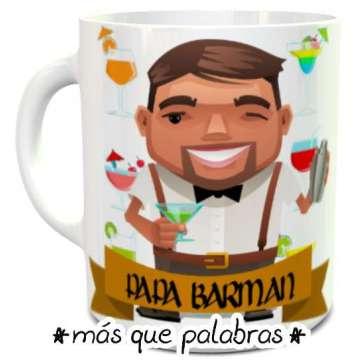 Tazón Papá Barman