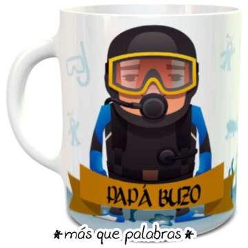 Tazón Papá Buzo