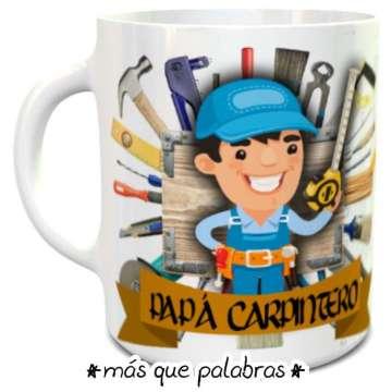 Tazón Papá Carpintero
