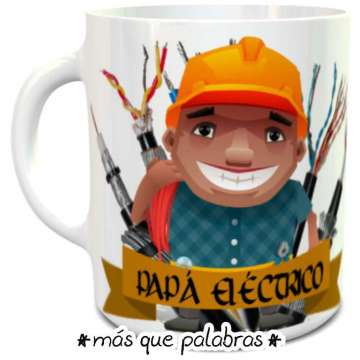 Tazón Papá Eléctrico