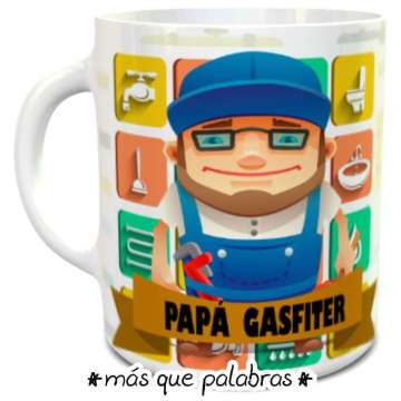 Tazón Papá Gasfiter