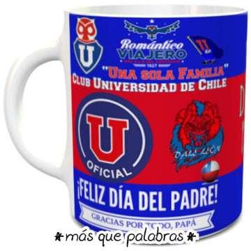Tazón Papá Universidad de Chile