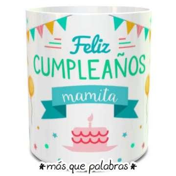 Tazón Cumpleaños Mamita