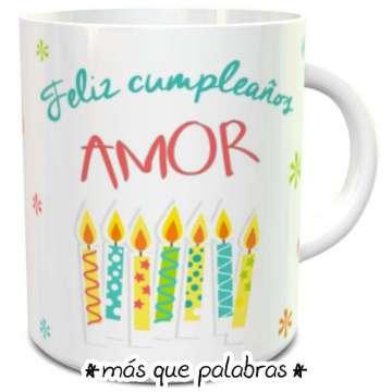 Tazón Cumpleaños Amor