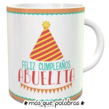 Tazón Cumpleaños Abuelita