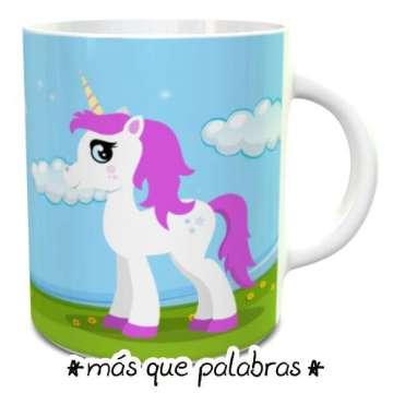 Tazón Feliz Cumpleaños Unicornio 1