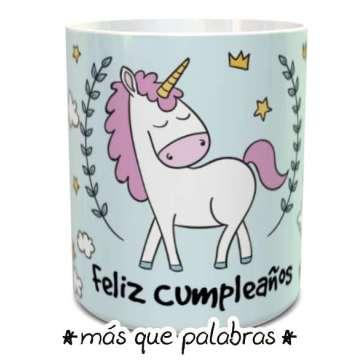 Tazón Feliz Cumpleaños Unicornio 2