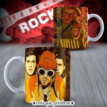 Tazón Bandas de Rock Nirvana