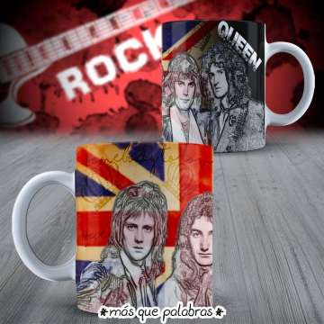 Tazón Bandas de Rock Queen