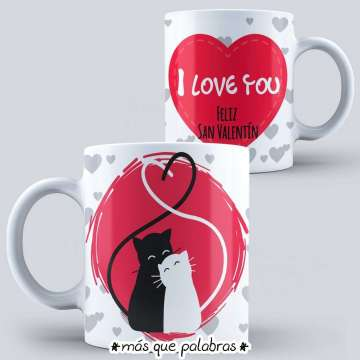 Tazón Amor - I Love You