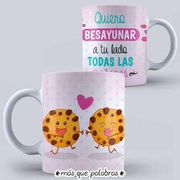 Tazón Amor - Quiero desayunar a tu Lado