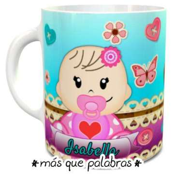Tazón Baby Shower - Niñita 2
