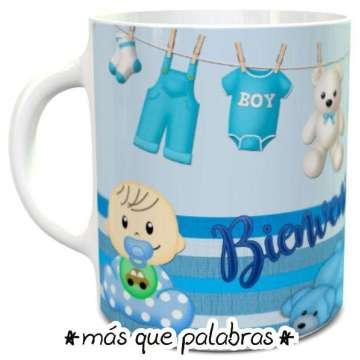 Tazón Baby Shower - Niñito 2