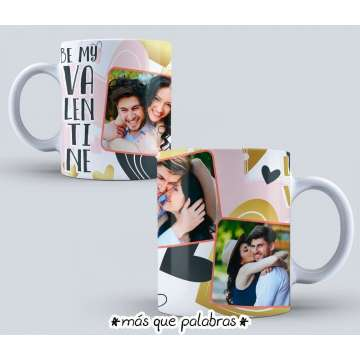 Tazón Amor - Be my Valentine