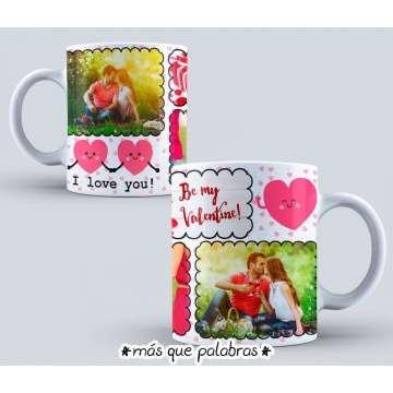 Tazón Amor - I Love You 3