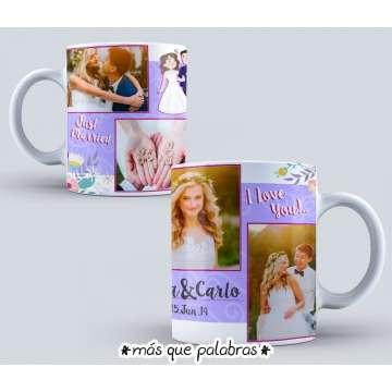 Tazón Amor - Just Married 2