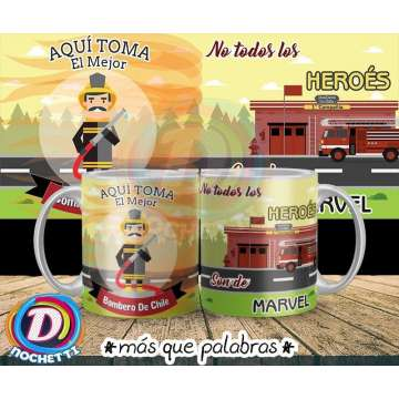 Tazón Bombero 2