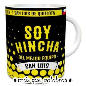 Tazón Fútbol Soy Hincha De San Luis 3
