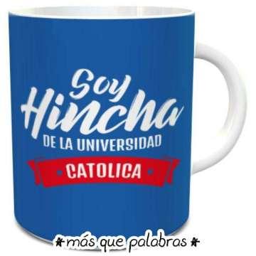 Tazón Fútbol Soy Hincha De Unversidad Católica 6