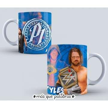 Tazón Lucha Libre WWE 4