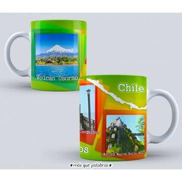 Tazón Paisajes Chile 6