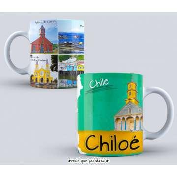 Tazón Paisajes Chile Chiloé
