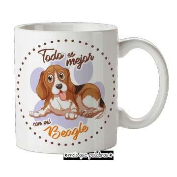 Tazón Perro Beagle