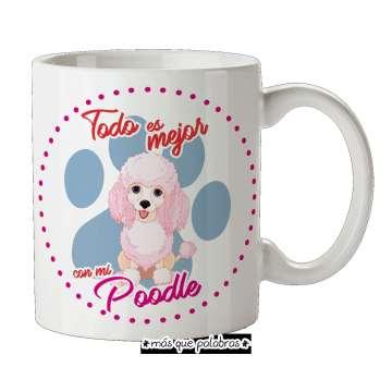 Tazón Perro Poodle