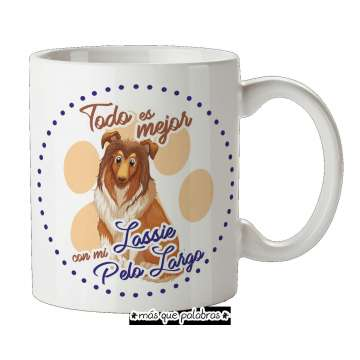 Tazón Perro Lassie