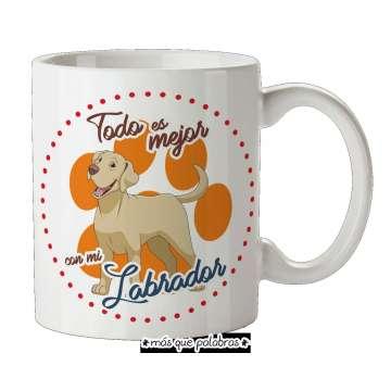 Tazón Perro Labrador 1