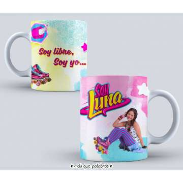 Tazón Soy Luna 01