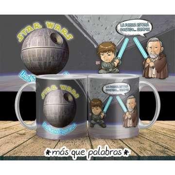 Tazón Luke & Obi Wan