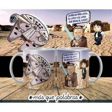 Tazón Han & Obi Wan