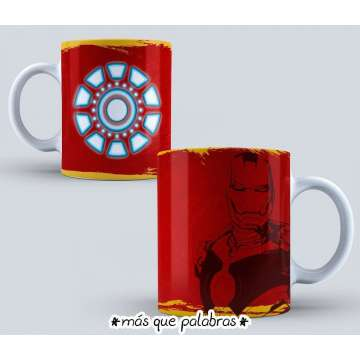 Tazón Iron Man