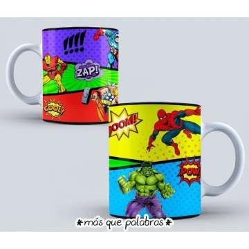 Tazón Superhéroes
