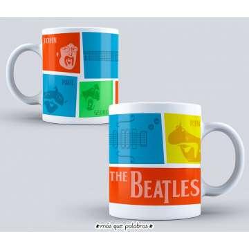 Tazón The Beatles 3