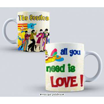 Tazón The Beatles 5