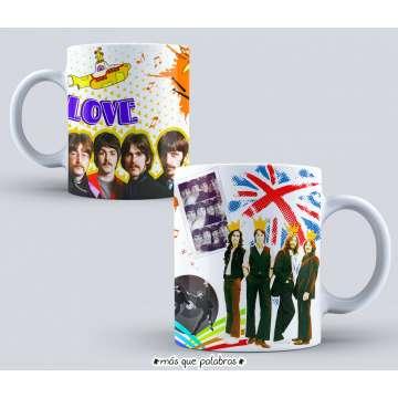 Tazón The Beatles 7