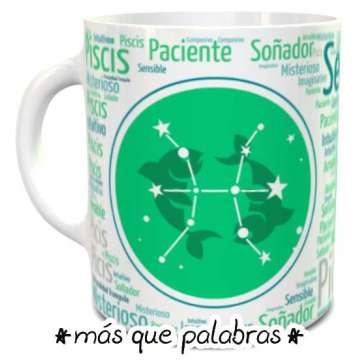 Tazón Signos Zodiacales Piscis