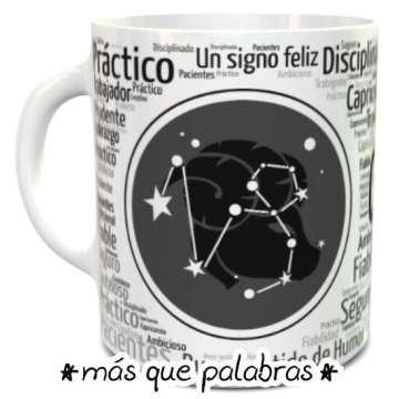 Tazón Signos Zodiacales Capricornio