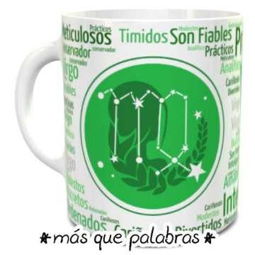 Tazón Signos Zodiacales Virgo