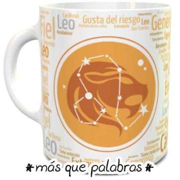 Tazón Signos Zodiacales Leo