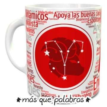 Tazón Signos Zodiacales Aries